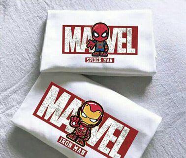 Marvel ironman T-shirt 美國隊長 雷神 蜘蛛俠 2019