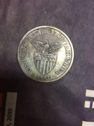 One Peso Filipinas (America Coin)