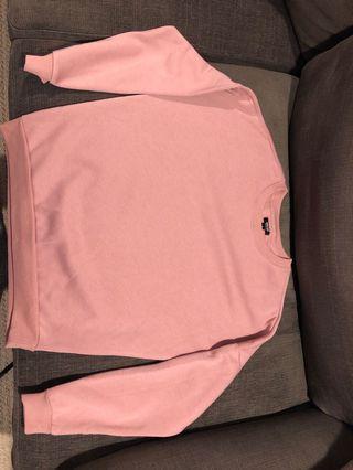 Pink Shade Crew neck sweater