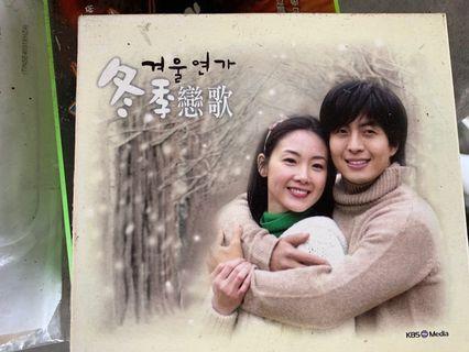 🚚 韓劇 DVD 冬季戀歌