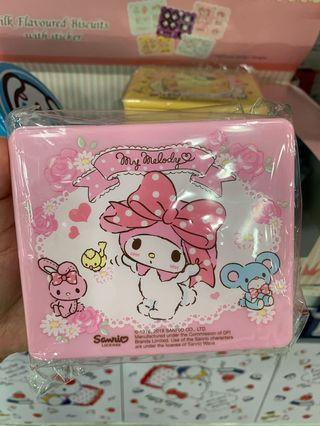 My Melody Milk Flavored Biscuits in Storage