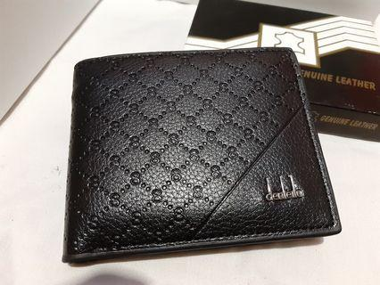 Men's wallet PU leather