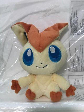 Pokemon Center 2011 pokedoll victini Plush