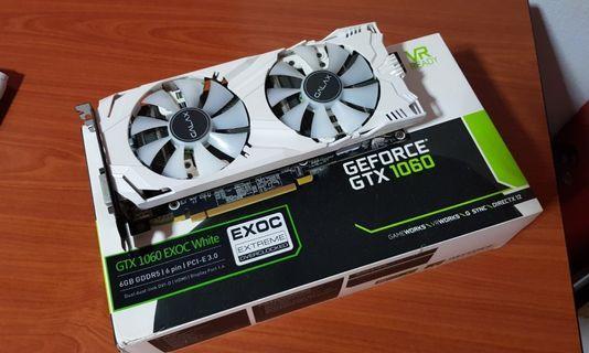 Galax GTX 1060 6GB EX OC White Edition