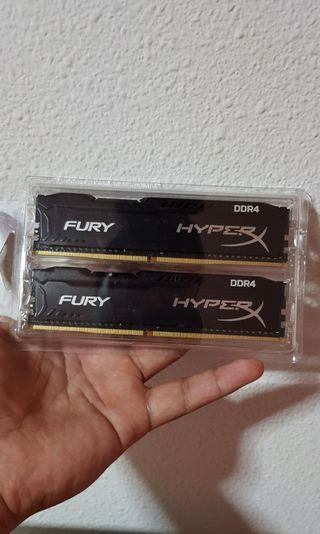 HyperX 8GB DDR4 2400MHz RAM