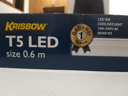 LED Light T5 | 8 Watt | 60 cm | Cool Day Light | BARU