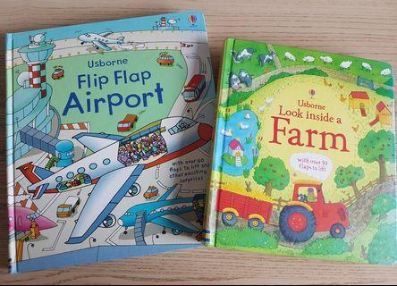 Usborne flip-flap books