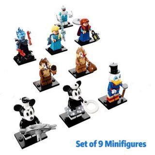 LEGO 71024 - LEGO Minifigures - Disney Series 2 - <Bundle OF 9> [ Spare Figs ] (REPACKED)