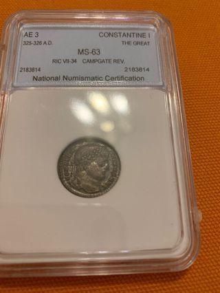 古羅馬銅幣
