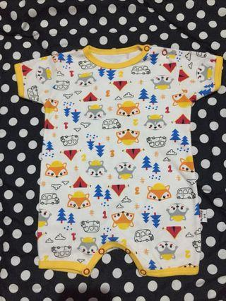 Libby Baby Jumper Segi Empat Yellow