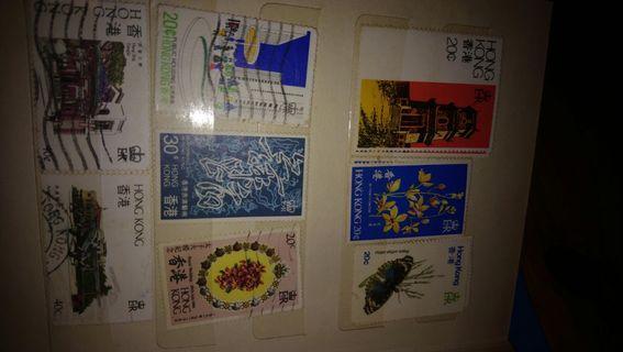 大堆罕有郵票和香港郵票,有意pm我問價錢