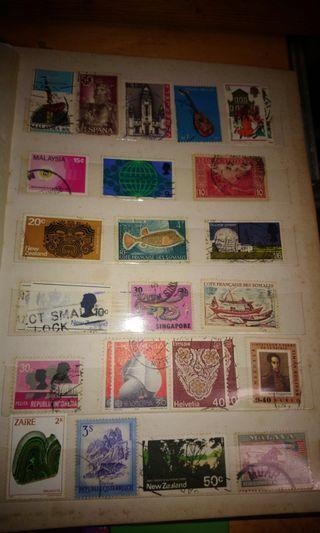 大堆罕有外國郵票,有意pm我問價錢