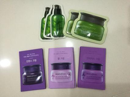 Innisfree Samples Green Tea Seed/Jeju Orchid