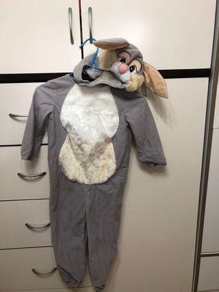 賓利兔cross play 兒童連身衣+帽