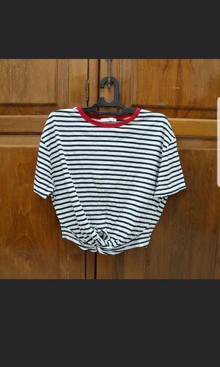 MANGO stripe top