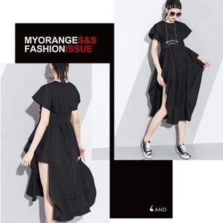 🚚 時尚柳丁造型洋裝