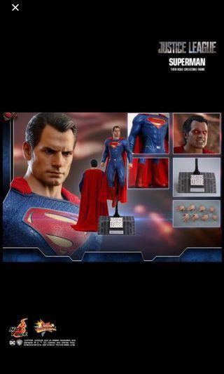 🚚 Last slot Hot toys superman justice league
