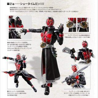 Shf Kamen Rider wizard 真骨雕 幪面超人 魔法師 火焰形態 (日版)