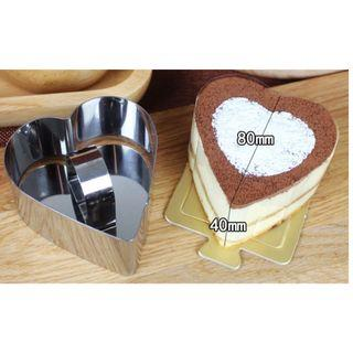 Mini Cake/Cookies Mould Heart