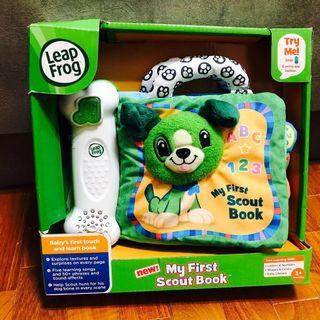 🚚 ~Ready Stocked~ LeapFrog My First Scout Book, Green