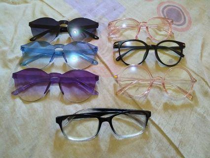 Glasses dan Kaca mata