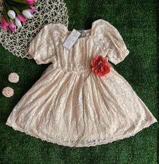 Princess cream dress