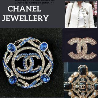 CHANEL BROOCH (Authentic)