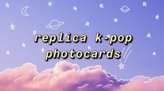 Replica K-pop Photocards