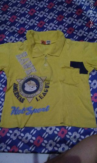 #mauthr Kaos anak kuning