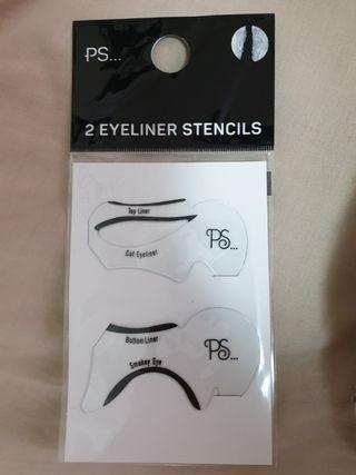 Eyeliner stencils