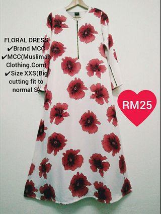 MCC Floral Dress
