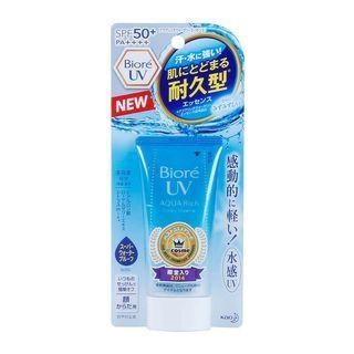 Biore UV Aqua Rich Watery Essence SPF50+ #mauthr