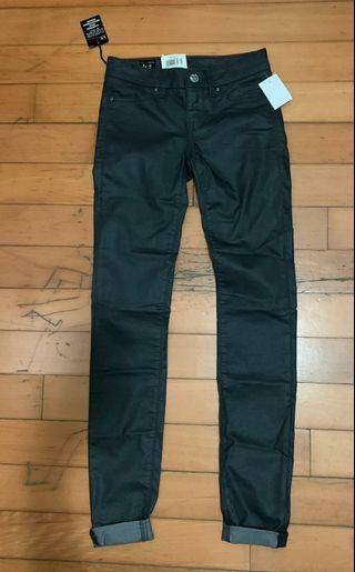 Satin Black Lee Jeans