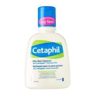 Cetaphil Oily Skin Cleanser 125ml #mauthr