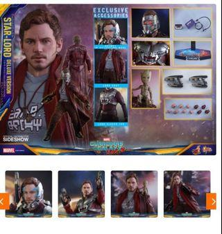 🚚 Hot toys Star Lord Deluxe Bib