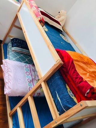 🚚 IKEA double deck bed for urgent sale! Only this week!