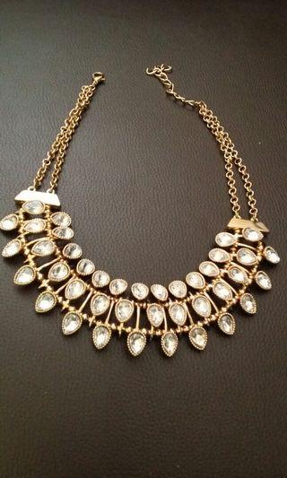Necklace (white stones)