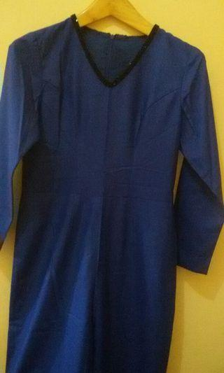 #mauthrJumsuit Terusan Celana Blue Navi