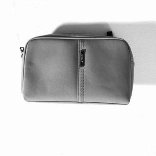BEVERLY HILL POLO CLUB clutch leather grey UNISEX #RayaHome