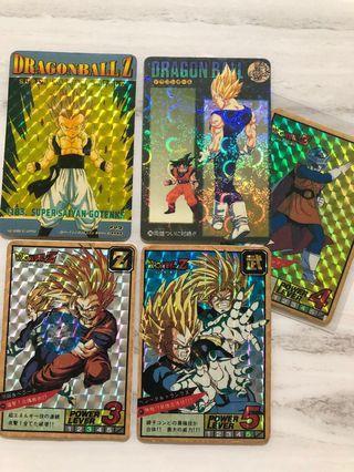 Dragonball Cards