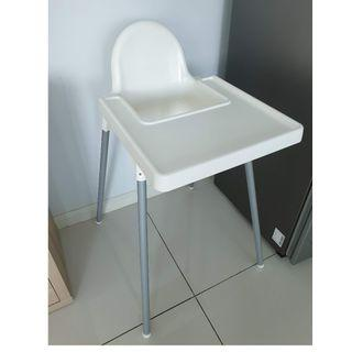 IKEA Antilop baby highchair with tray