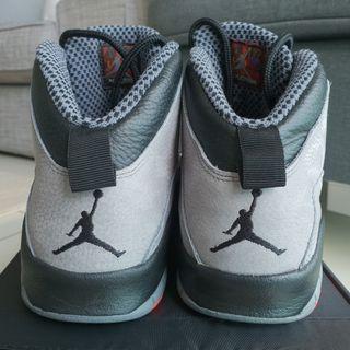 Air Jordan Retro 10 Cool Grey US9. original