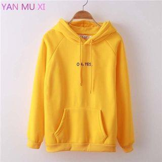 Oh Yes! Yellow Hoodie