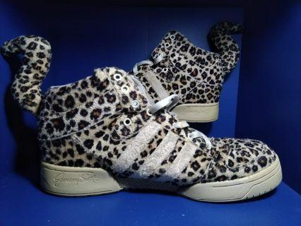 Sepatu Adidas Leopard jeremy scott