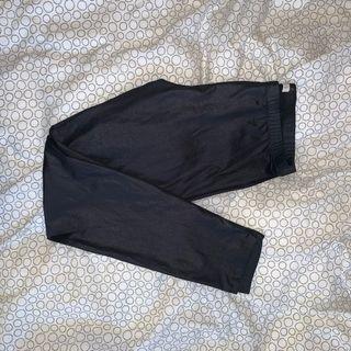 ardene black vinyl leggings