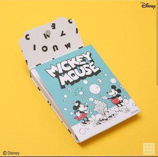 🚚 BNIB Daiso Korea Mickey Memo Pad