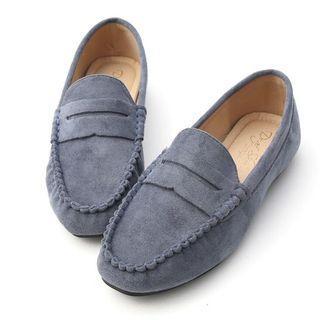 🚚 D+AF限定霧霾藍家樂福鞋平底包鞋休閒鞋