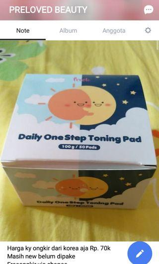 Daily One Step Toning Pad Exfoliating