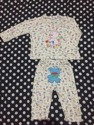 Carter's Baby Sleepsuit White