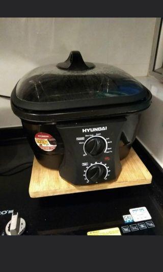 Hyundai 八合一蒸煮炸鍋